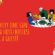 NEW: Everyone can become a host/hostess or a guest!